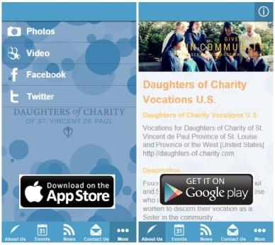 Una «App» para las Vocaciones de Hijas de la Caridad