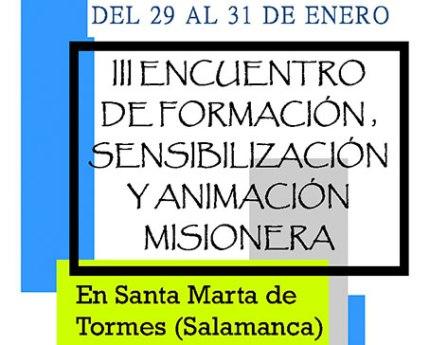 III Encuentro de formación, sensibilización y animación misionera