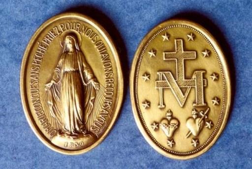Medalla Milagrosa – Medios Misioneros de la Familia Vicenciana
