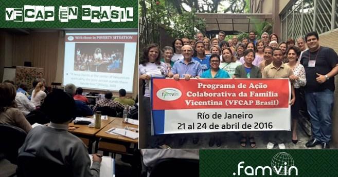 Programa de Acción Colaborativa en Río de Janeiro: del 21 al 24 de abril de 2016