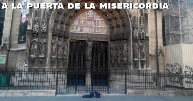 A la puerta de la Misericordia #YoSoyVicente