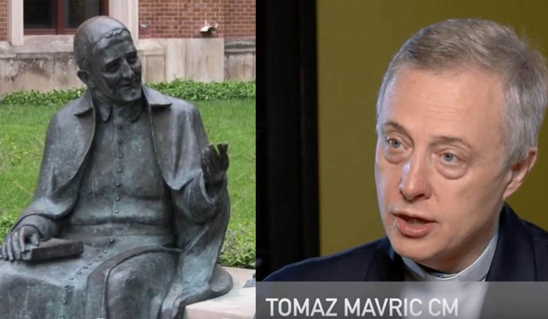 Entrevista al P. Tomaž Mavrič, CM, realizada en el año 2013