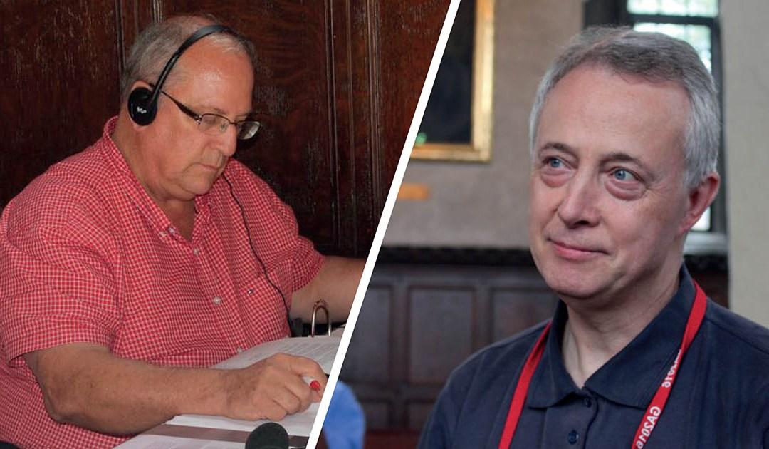 Entrevistas en radio a los Padres Gregory Gay y Tomaž Mavrič