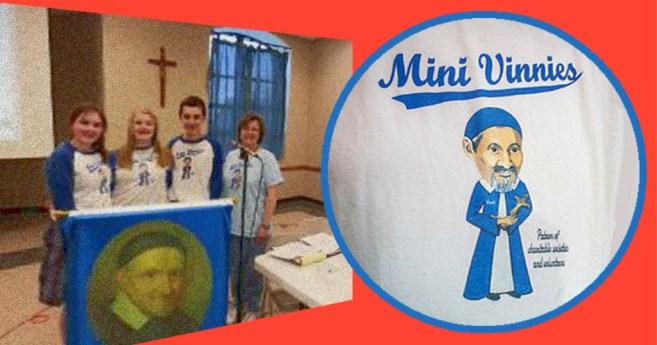 «Vicentitos» cumplen con su misión sirviendo como San Vicente de Paúl