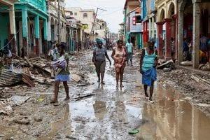 Huracán Matthew en Haití. Foto: Minustah