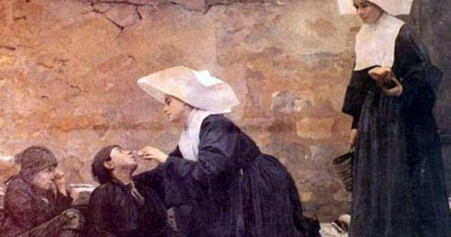 Las Hijas de la Caridad, precursoras de la Enfermería