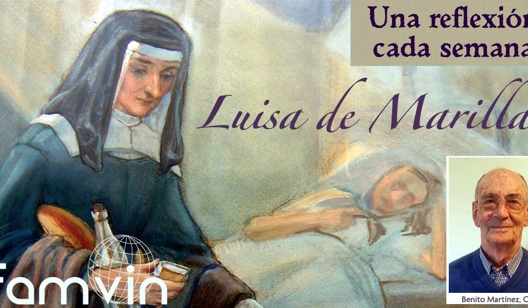 Trabajar por los necesitados, gratis y sin ruido • Una reflexión semanal con Luisa