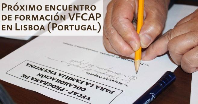 Se acerca el próximo encuentro de formación VFCAP en Lisboa (Portugal)