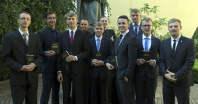 El Seminario Interno de la Congregación de la Misión en Cracovia 2016