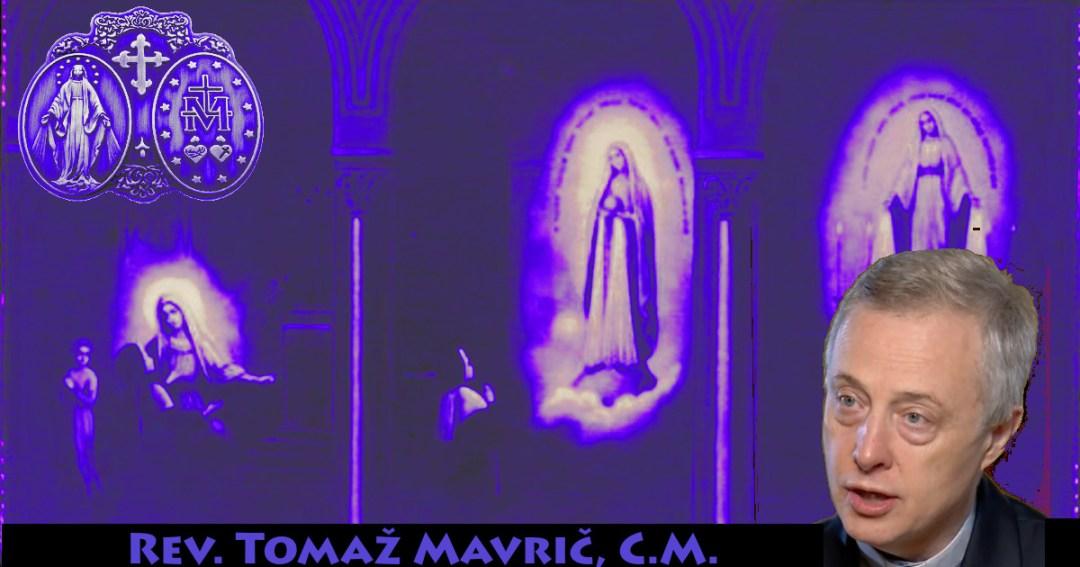 Tomaž Mavrič CM na święto Matki Bożej od Cudownego Medalika