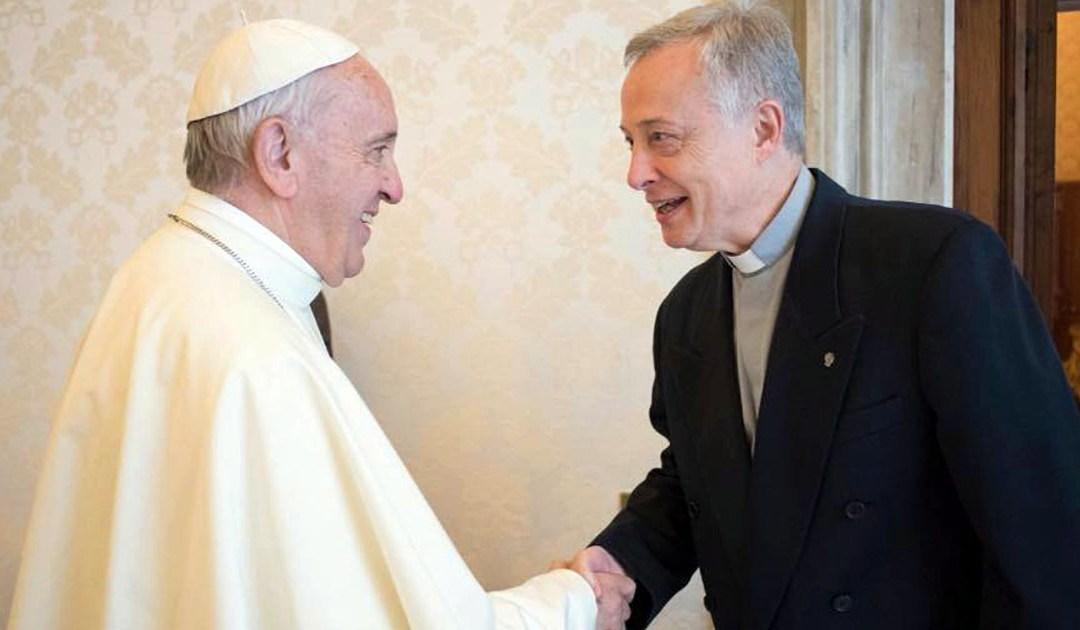 El Papa Francisco recibe a Tomaž Mavrič, CM, Superior General
