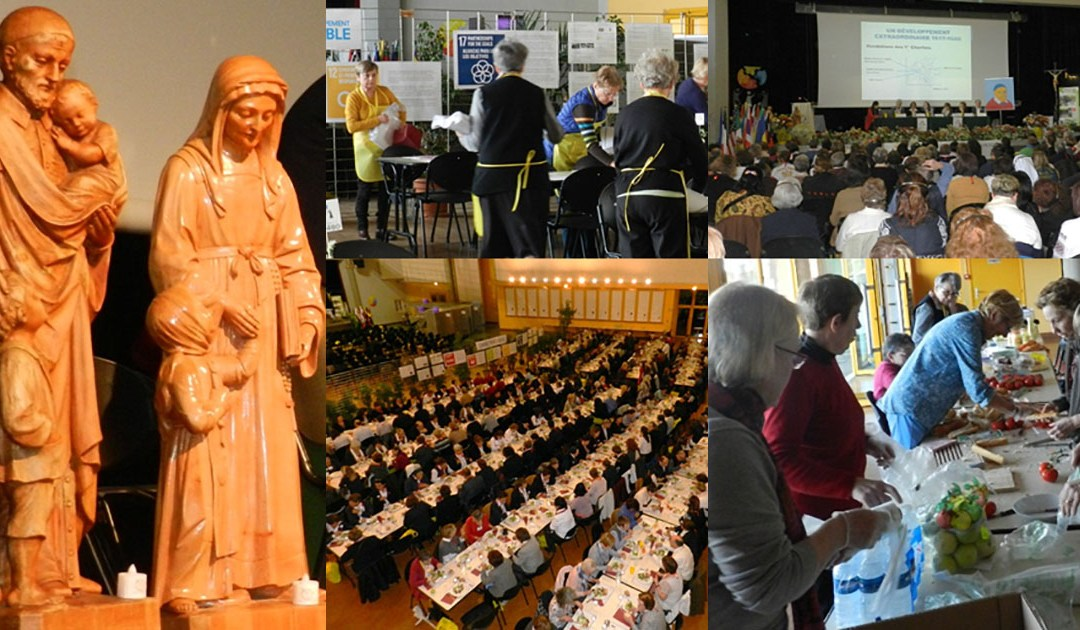 Asamblea AIC 2017 en Chatillon: ¡una acogida inolvidable para muchas voluntarias!
