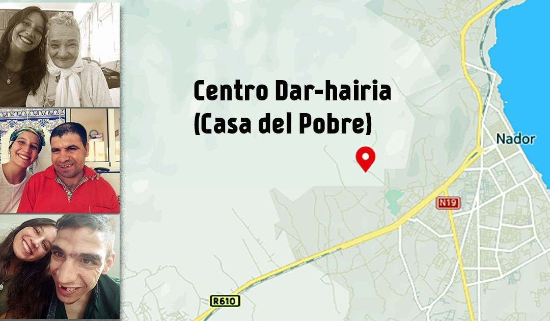 En el Centro Dar-hairia (Casa del Pobre) en Nador