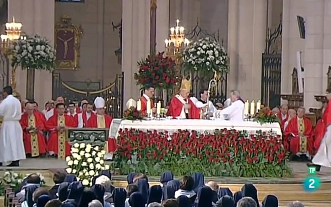 Video de la Eucaristía de Acción de Gracias por la beatificación de los mártires de la Familia Vicenciana