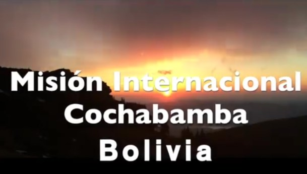 Video: Presentación de la misión internacional en Cochabamba (Bolivia)