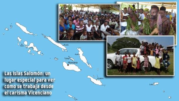 Las Islas Salomón: un lugar especial para ver cómo se trabaja desde el carisma vicenciano