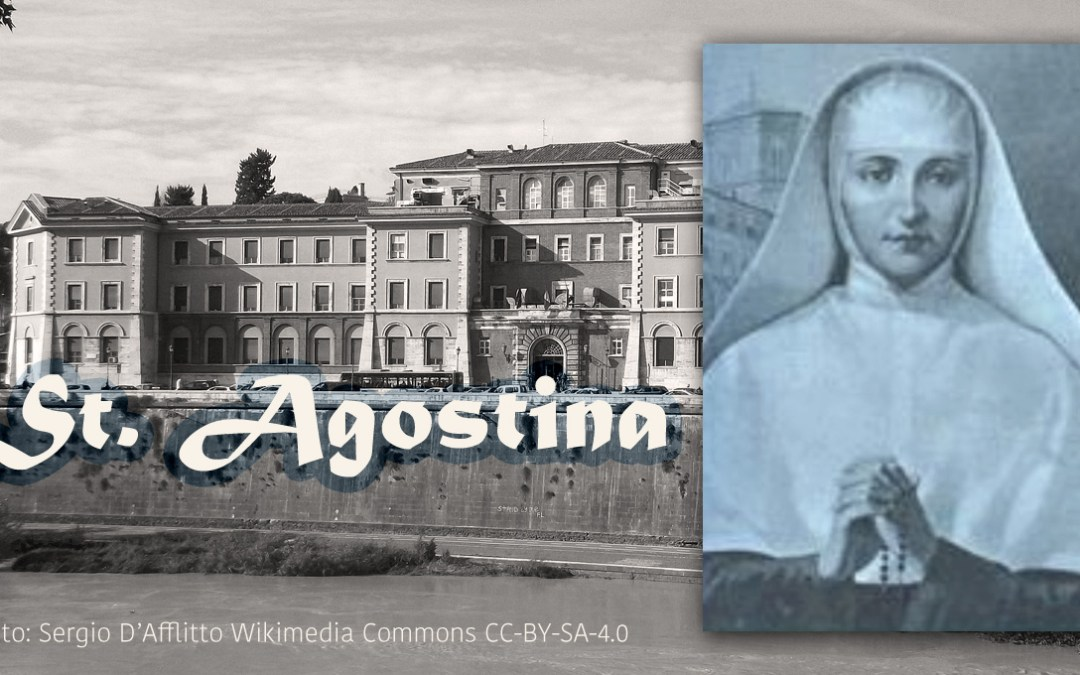 El 13 de noviembre celebramos la fiesta de santa Agustina Livia Pietrantoni