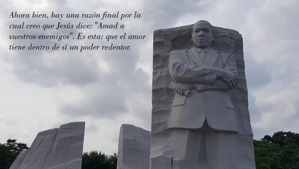 Por qué debemos amar a nuestros enemigos #MLKDay2018