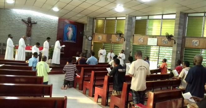 Seminario Mayor del Espíritu Santo en Bomana – Papúa Nueva Guinea
