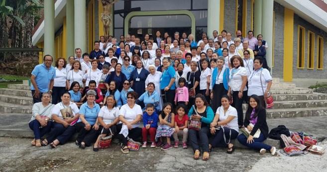 XV encuentro nacional de la Asociación de la Medalla Milagrosa de Ecuador