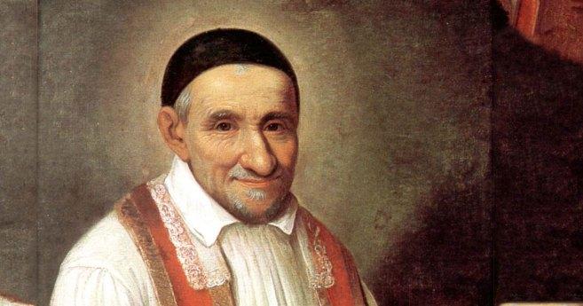 En la solemnidad de san Vicente de Paúl