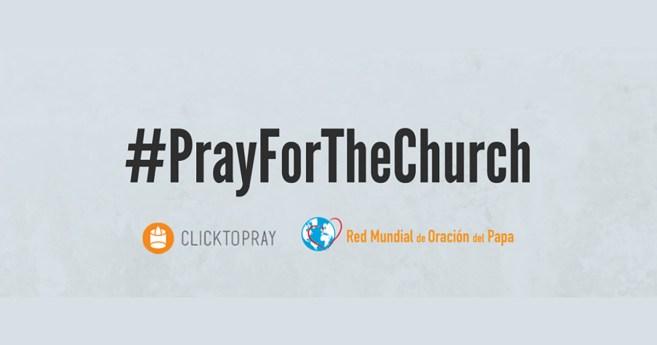 Pedido de oración del papa – Campaña especial octubre #PrayForTheChurch