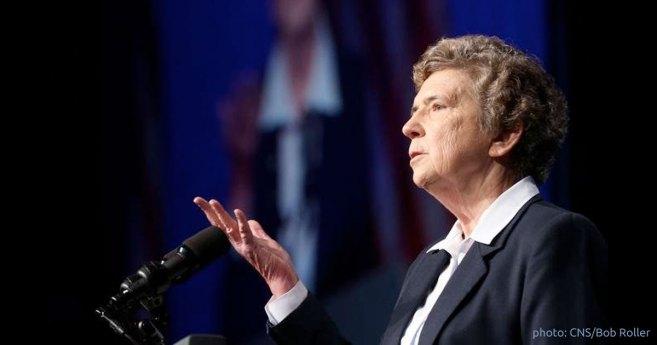 Sor Carol Keehan, Hija de la Caridad, se jubilará como presidenta de «Catholic Health Association» el próximo junio