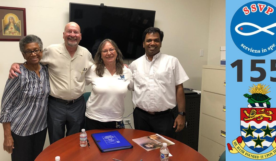La Sociedad de San Vicente de Paúl se expande hacia una nueva zona: las Islas Caimán
