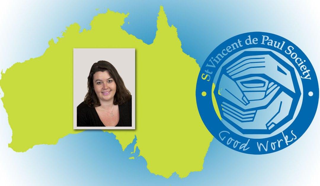 Nueva Presidenta del Consejo Nacional de la Sociedad de San Vicente de Paúl en Australia