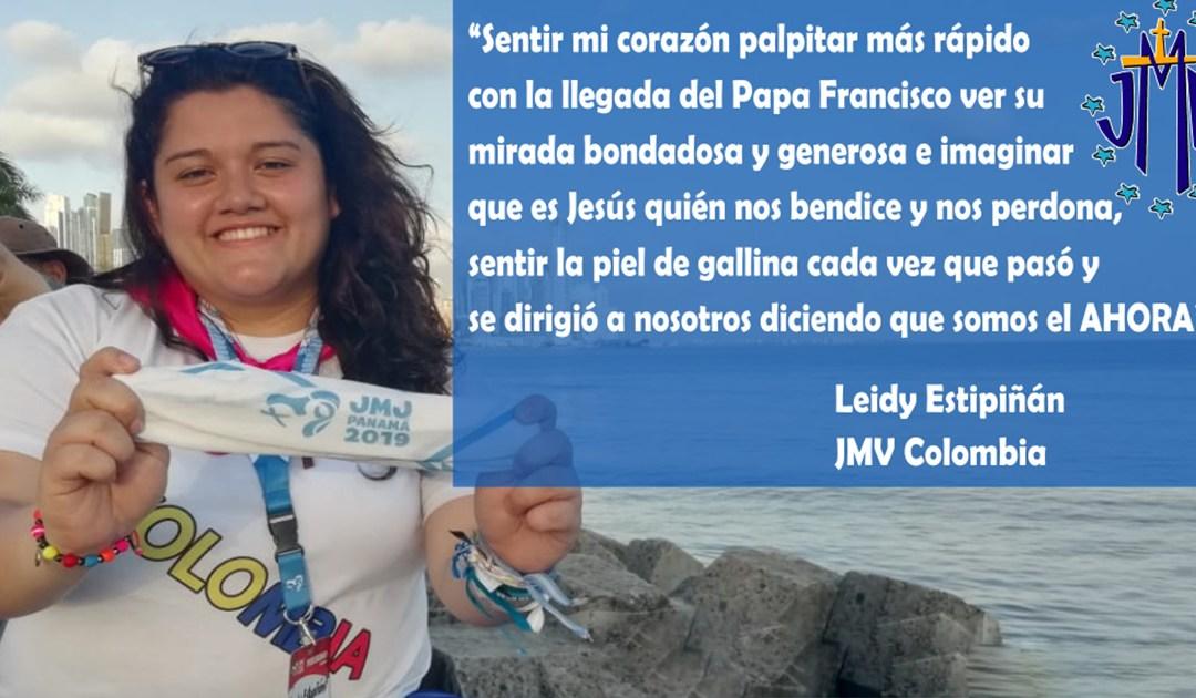 Testimonio sobre la JMJ Panamá: Leidy Estupiñán