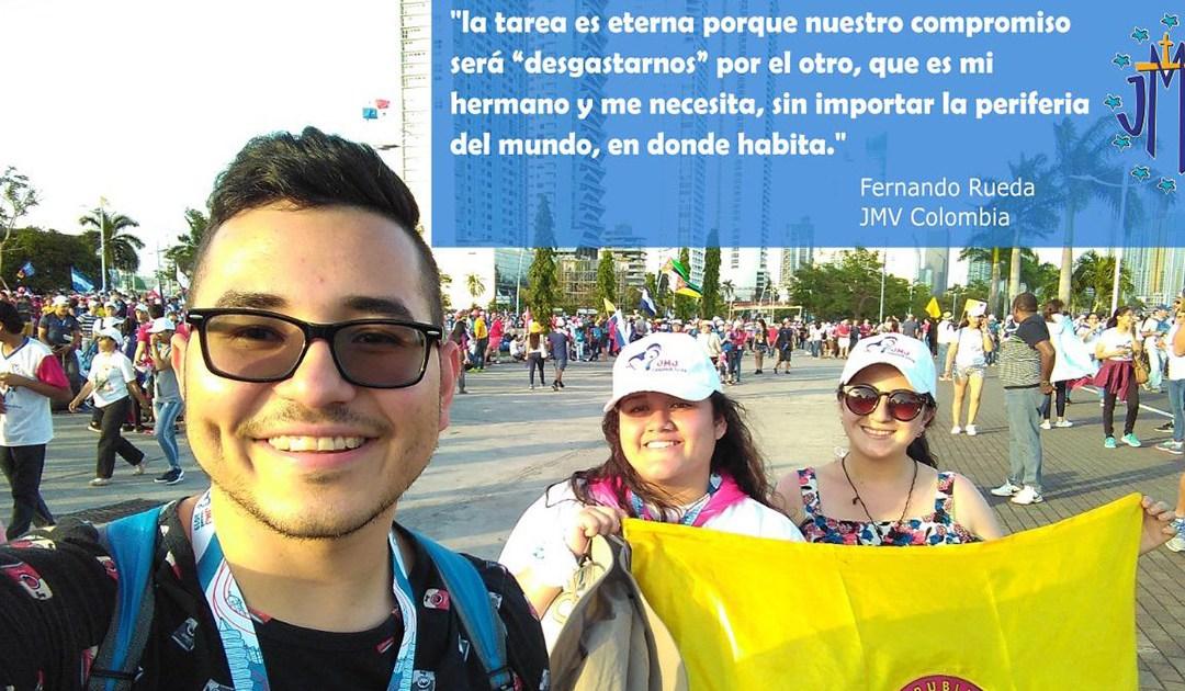 Testimonio sobre la JMJ Panamá: Fernando Rueda