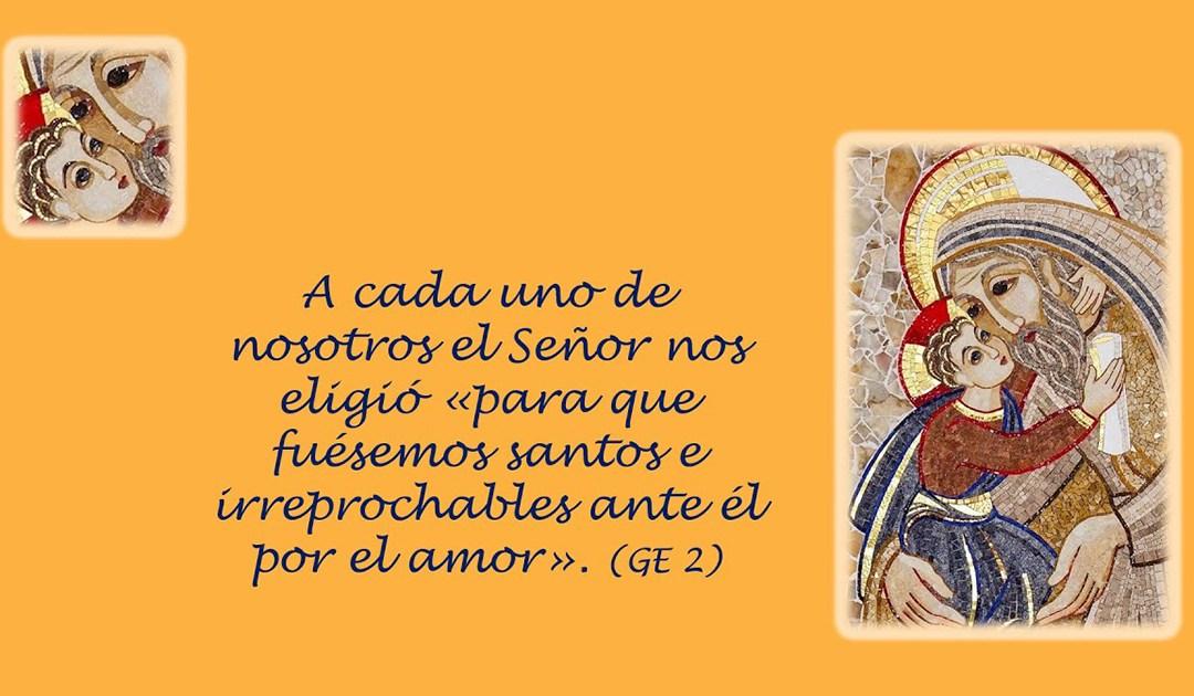 Llamada a la santidad y santa Luisa