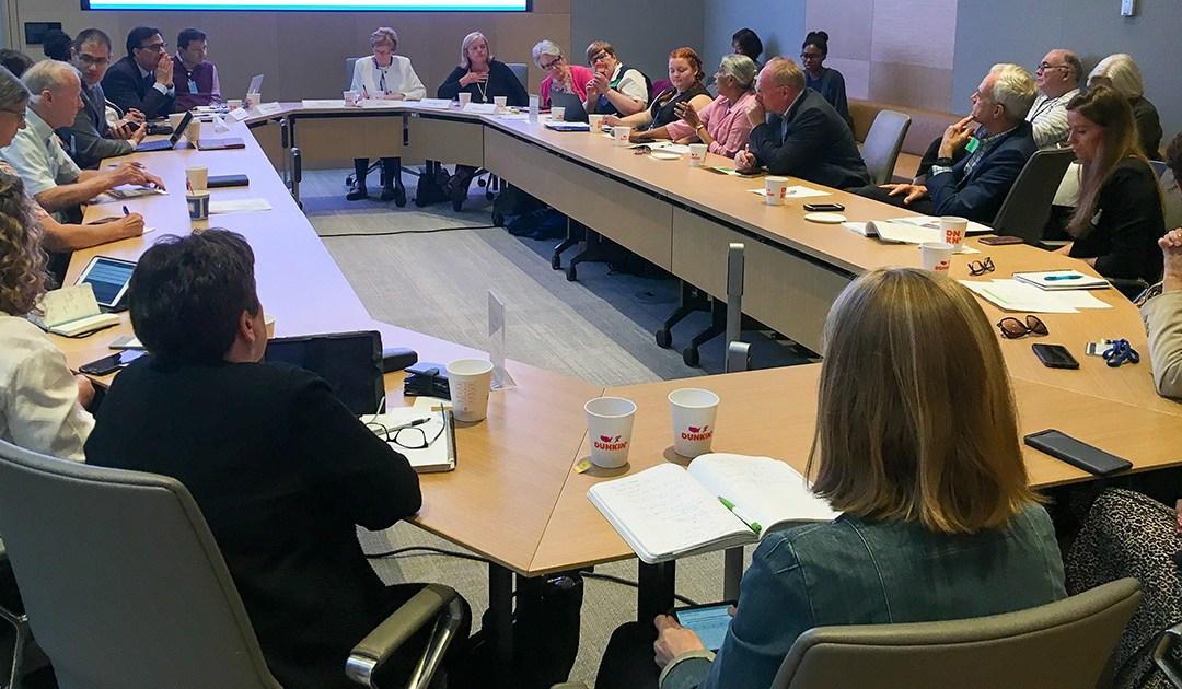 La Alianza FamVin con los sin hogar participa en la incidencia vicenciana en la ONU