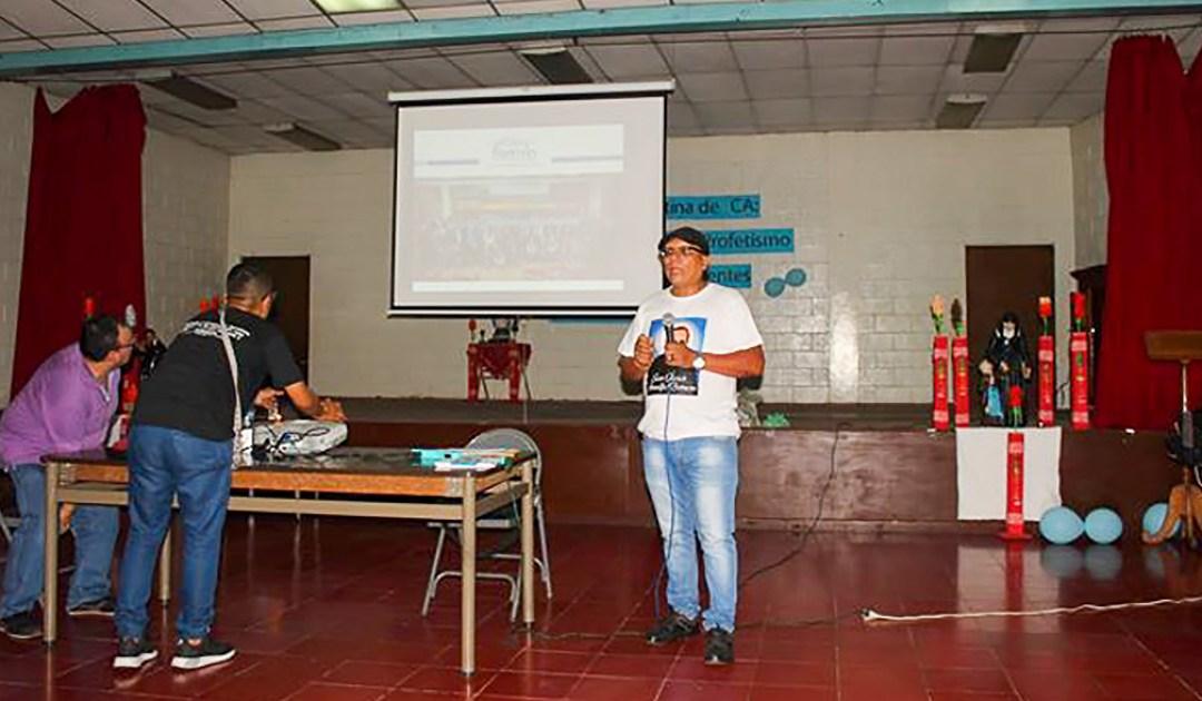Presentando la Alianza Famvin con los sin hogar a la Familia Vicentina en Centroamérica