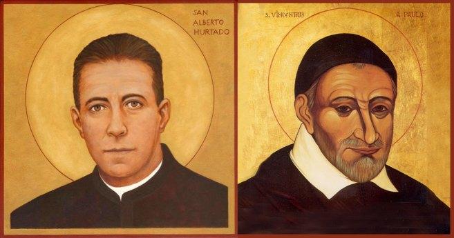 Cuando se encuentran un santo vicenciano y otro jesuita