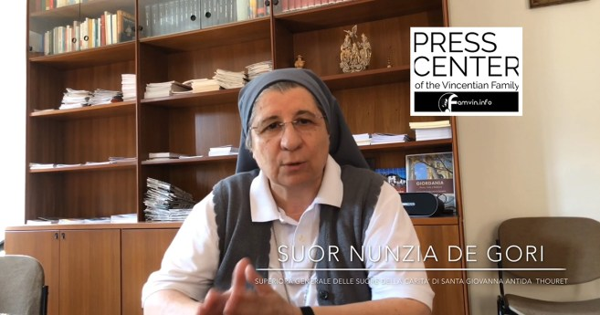 Entrevista con sor Nunzia de Gori, Superiora General de las Hermanas de la Caridad de Santa Juana Antida Thouret