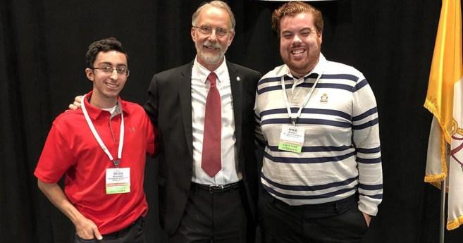 Universitarios de St. John, presentes en la Asamblea Nacional de la Sociedad de San Vicente de Paúl de Estados Unidos
