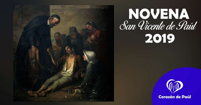 Novena a san Vicente de Paúl 2019: Día 1