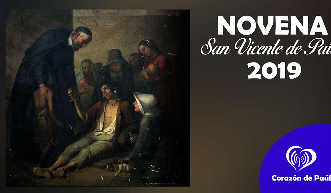 Novena a san Vicente de Paúl 2019: Día 8