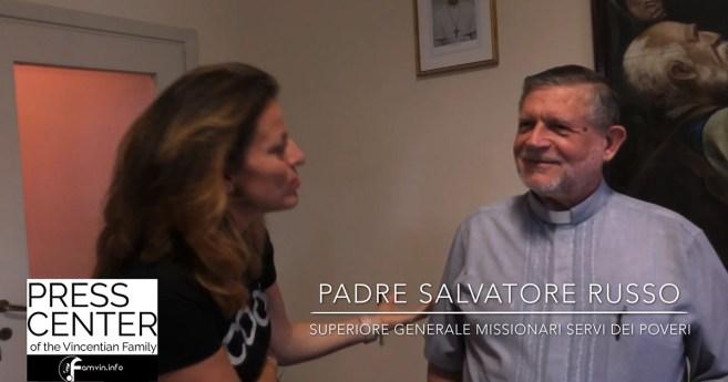 Entrevista al padre Salvatore Russo, Superior General de los Misioneros Siervos de los Pobres