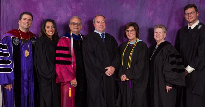 La Universidad del Niágara honra a seis personas por su labor destacada en el espíritu de san Vicente de Paúl