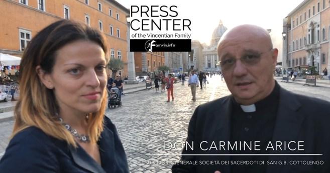 Entrevista al padre Carmine Arice, Superior General de la Familia Cotolenguina y de la Pequeña Casa de la Divina Providencia