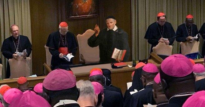 ¿Y si san Vicente hubiera participado en el Sínodo?