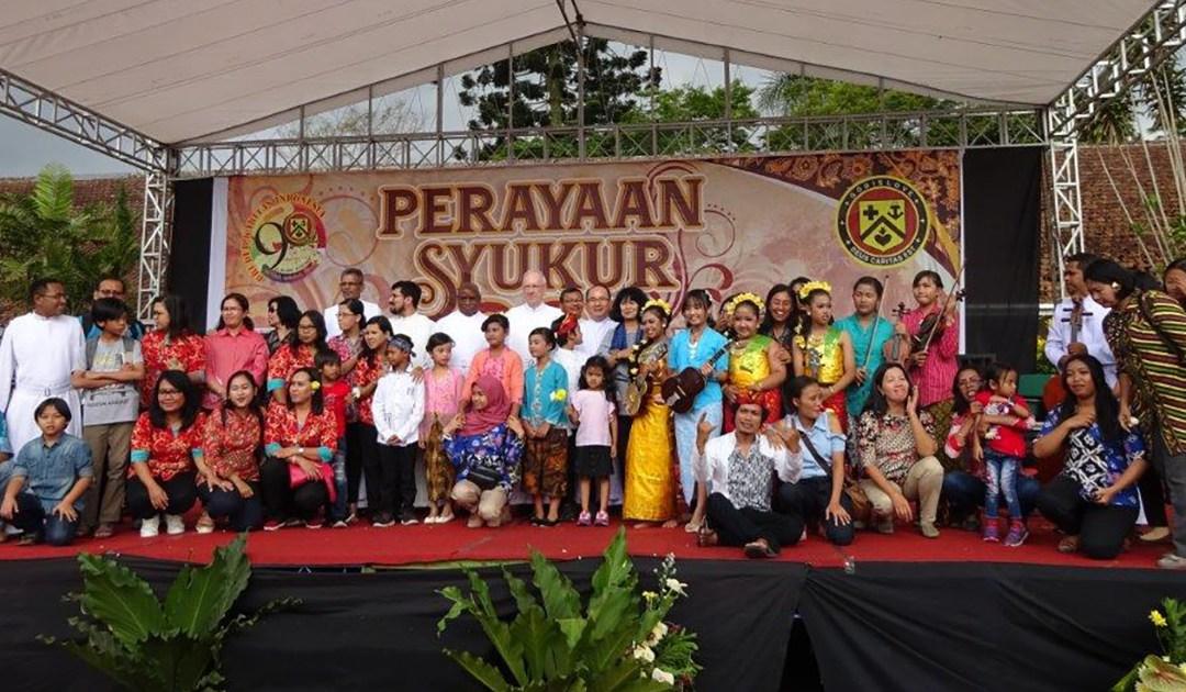 90 años de presencia de los Hermanos de la Caridad en Indonesia