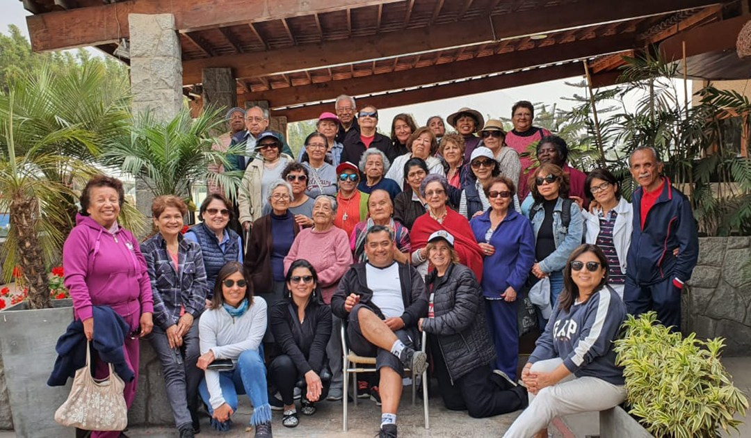 Un día de relax y celebración para ACASVI (Perú)