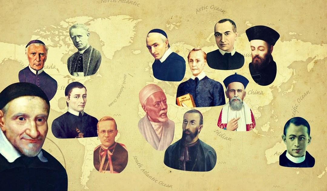 San Vicente de Paúl y santos de la Congregación de la Misión [Video]