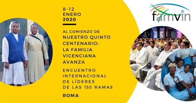 Histórico Encuentro de más de 100 Ramas de la Familia Vicenciana