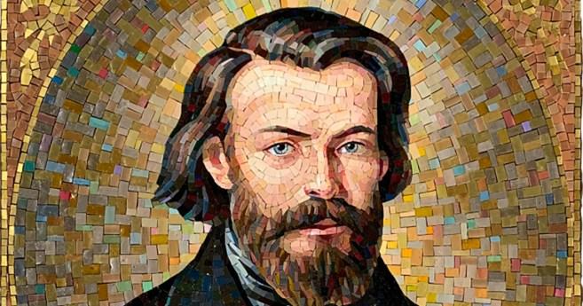 Inauguración de un mosaico en honor al beato Federico Ozanam en el 175 Aniversario de la SSVP en EE.UU