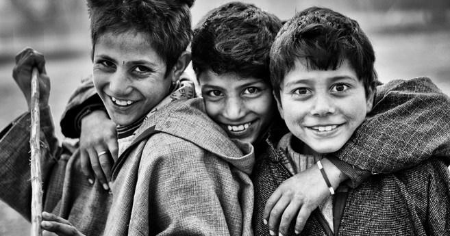 La caridad en una sonrisa