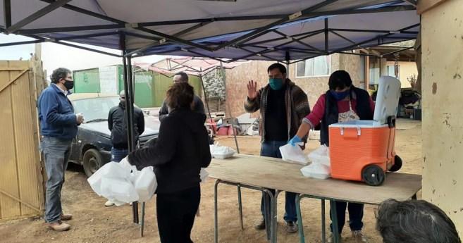 Misioneros en La Serena (Chile), presencia evangelizadora y solidaria en campamentos, en tiempo de pandemia